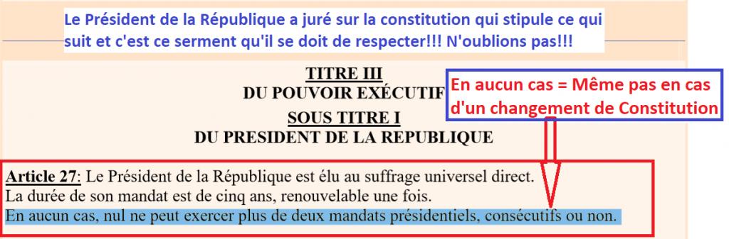 Constitution Mai 2010